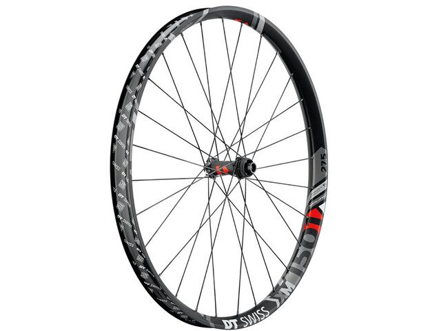 "DT Swiss XM 1501 Spline Roue avant 27.5"" Disc CL 100/15mm Axe traversant 40mm, black"